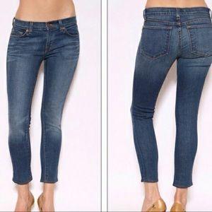 J Brand Bayou Skinny Ankle Crop Jeans 30